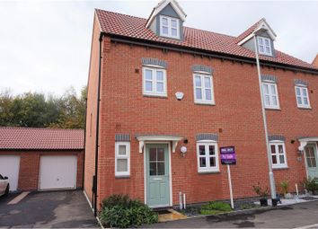 Thumbnail 3 bed semi-detached house for sale in Leaders Way, Lutterworth