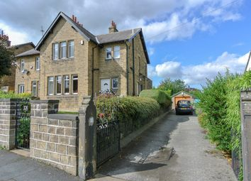 Thumbnail 3 bedroom semi-detached house for sale in Woodside Road, Beaumont Park, Huddersfield