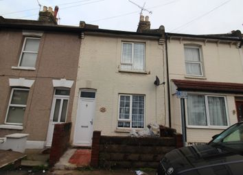 Thumbnail 2 bed terraced house to rent in Gordon Road, Gillingham, Kent
