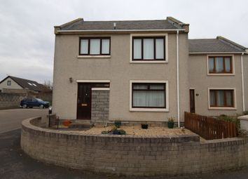 Thumbnail 3 bed end terrace house for sale in New View Court, Buckie