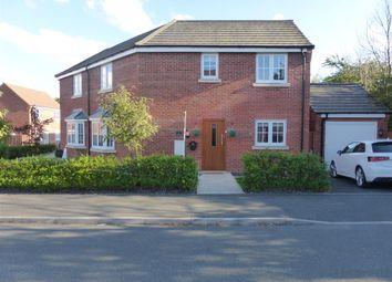Thumbnail 3 bed semi-detached house for sale in Michie Road, Loughborough