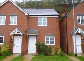 Thumbnail 2 bedroom town house to rent in Bank End Close, Mansfield, Nottinghamshire