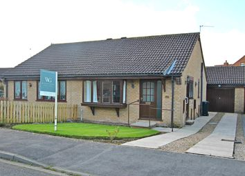 Thumbnail 2 bed semi-detached bungalow for sale in The Gallops, Norton, Malton, Y017