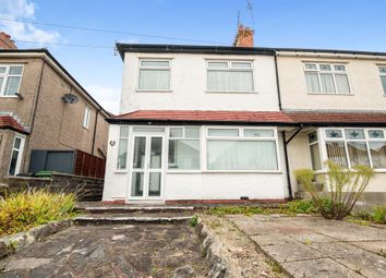 Thumbnail Semi-detached house for sale in Llanbedr Road, Fairwater, Cardiff