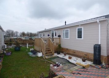 Thumbnail 3 bed mobile/park home for sale in The Manor, Billing Garden Village, The Causeway, Great Billing