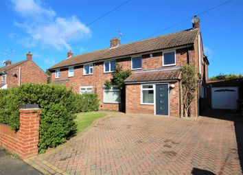 Thumbnail 4 bed semi-detached house for sale in Francis Gardens, Peterborough