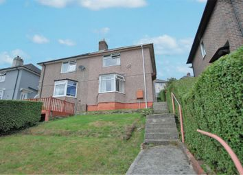 Thumbnail 3 bed semi-detached house for sale in Castle Rise, Plymouth