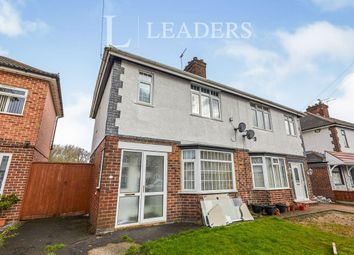 Thumbnail 3 bed semi-detached house to rent in Foremark Avenue, Normanton, Derby