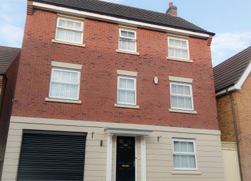 Thumbnail 4 bed detached house for sale in Attingham Drive, Dudley