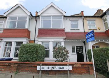Thumbnail 1 bed flat for sale in Leighton Road, London