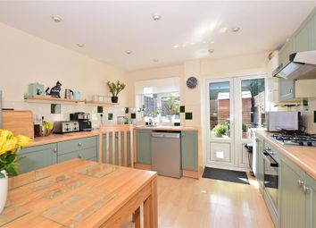 Thumbnail 3 bed town house for sale in Greenvale Gardens, Twydall, Gillingham, Kent