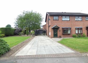 Thumbnail 3 bed semi-detached house for sale in Coleridge Way, Crewe