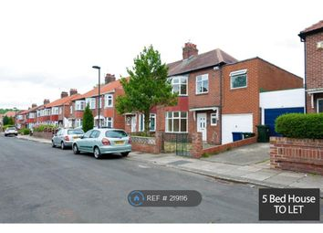 Thumbnail 5 bed semi-detached house to rent in Powburn Gardens, Fenham