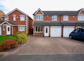 Thumbnail 3 bed semi-detached house for sale in Falmouth Drive, Darlington