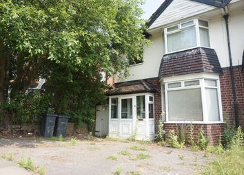 Thumbnail 3 bedroom semi-detached house for sale in Harborne Park Road, Birmingham