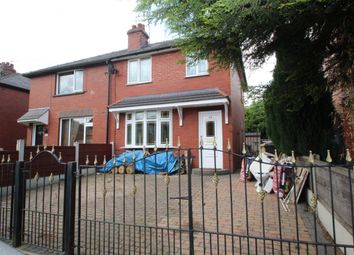Thumbnail 3 bed semi-detached house for sale in Whitehead Crescent, Manchester