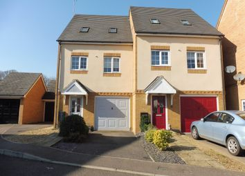 Thumbnail 3 bedroom semi-detached house for sale in Harmonds Wood Close, Broxbourne