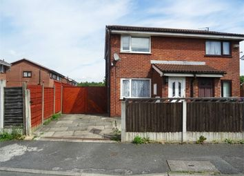 Thumbnail 2 bedroom semi-detached house for sale in Kimbolton Close, Manchester