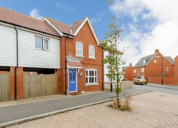 Thumbnail 3 bed terraced house for sale in Violet Way, Bridgefield, Ashford