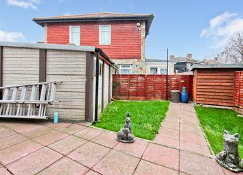 Thumbnail 2 bedroom end terrace house for sale in Woodlane Road, Dagenham