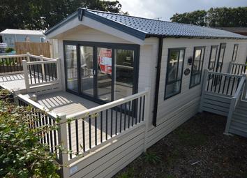 Thumbnail 2 bed lodge for sale in Hook Lane, Warsash, Southampton