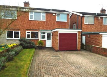 Thumbnail 3 bed semi-detached house for sale in Russley Road, Bramcote, Nottingham, Nottinghamshire