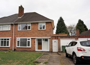 Thumbnail 3 bed semi-detached house for sale in Northside Drive, Sutton Coldfield