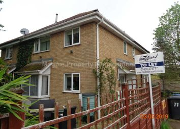 Thumbnail 2 bedroom town house to rent in Meadowsweet, Eaton Ford, St. Neots