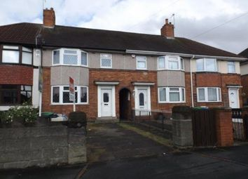 Thumbnail 3 bed terraced house for sale in Crankhall Lane, Wednesbury, West Midlands