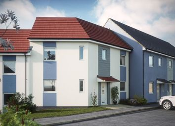 Thumbnail 3 bed semi-detached house for sale in Poets Corner Chaucer Way, Manadon, Plymouth