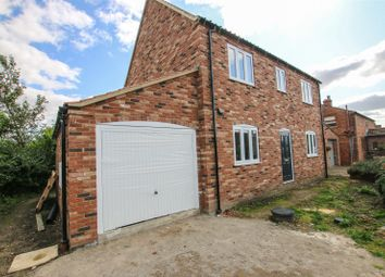 Thumbnail 3 bed detached house for sale in Old Gallamore Lane, Middle Rasen, Market Rasen, Lincolnshire
