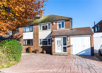 Thumbnail 4 bed semi-detached house for sale in Parkfield Road, Rainham, Gillingham, Kent