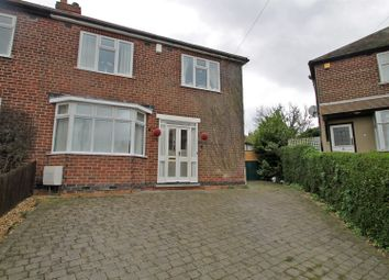 Thumbnail 3 bed semi-detached house for sale in Yvonne Crescent, Carlton, Nottingham