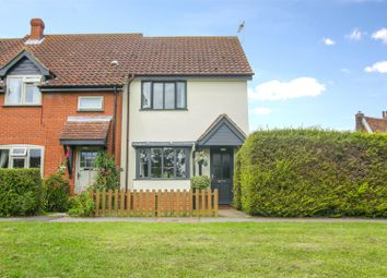 Thumbnail 2 bed end terrace house for sale in Home Meadow, Laxfield, Woodbridge