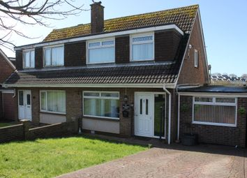 Thumbnail 4 bed semi-detached house for sale in Roselands Drive, Paignton