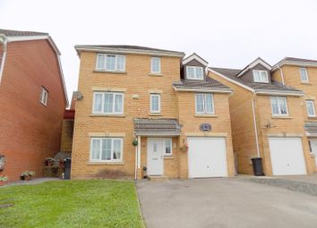 Thumbnail 5 bed detached house for sale in Crymlyn Gardens, Neath, Neath Port Talbot.