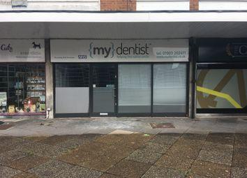 Thumbnail Retail premises to let in Broadwater Road, Worthing