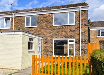 Thumbnail 3 bed end terrace house to rent in Freshfield Close, Crawley