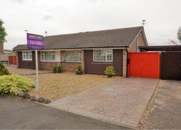 Thumbnail 2 bed semi-detached bungalow for sale in Blakesley Road, Wigston, Leicester