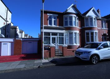 Thumbnail 6 bed terraced house for sale in Ormund Avenue, Blackpool, Lancashire