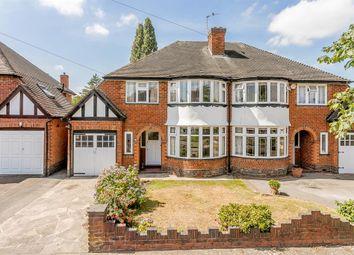 Thumbnail 3 bed semi-detached house for sale in Chestnut Drive, Erdington, Birmingham