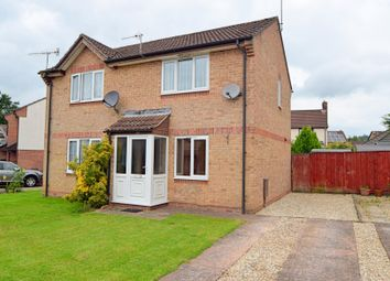 Thumbnail 2 bed semi-detached house for sale in Priory Road, Tiverton