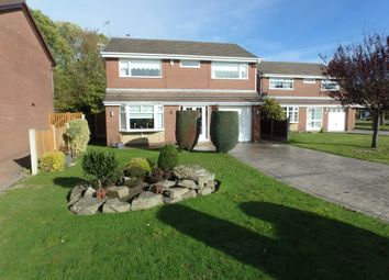 Thumbnail 4 bed detached house for sale in Carpenter Grove, Padgate, Warrington