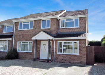 Thumbnail 5 bed semi-detached house for sale in Villiers Way, Enborne, Newbury
