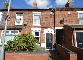 Thumbnail 3 bed terraced house for sale in Bertie Road, Norwich, Norfolk