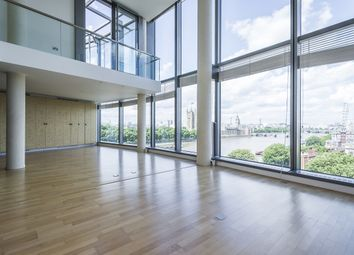 Thumbnail 3 bedroom flat to rent in Parliament View Apartments, Albert Embankment, London