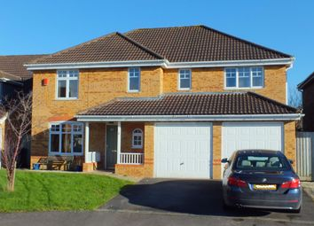 Thumbnail 5 bed detached house for sale in Castell Close, Paxcroft Mead, Trowbridge