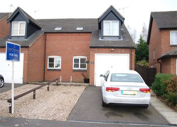 Thumbnail 3 bed semi-detached house for sale in Outram Drive, Swadlincote, Derbyshire