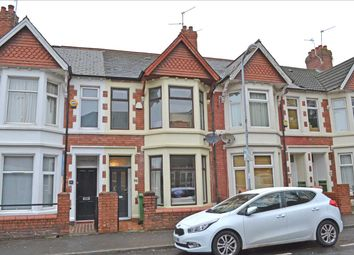 Thumbnail 3 bed terraced house to rent in New Zealand Road, Heath/Gabalfa, Cardiff
