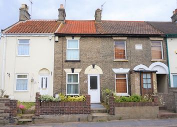Thumbnail 2 bedroom terraced house for sale in Church Road, Gorleston, Great Yarmouth